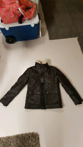 emporio & co leather jackets womens
