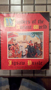 "Jaymar """"Wonders of the Ancient World"" jigsaw puzzle, 17 X 21"""