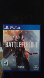 Battlefield 1 ps4 $30 or trade
