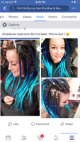 Dreadlocks/hair extensions/braids/Beauty products