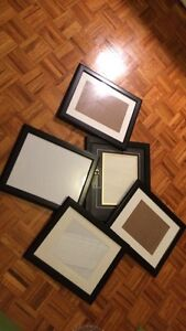 Very clean black wooden photo frame