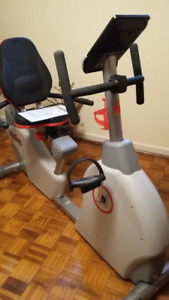 IronMan Recumbent exercise bike