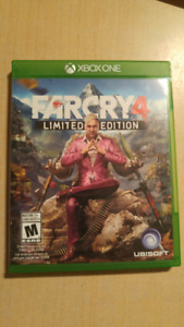 Jeu XBox One Far Cry 4 Limited Edition