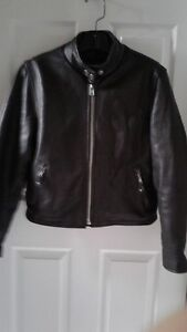 Ladies Leather Motorcycle Jacket  + other available items