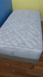 like new mattress and box spring from sears