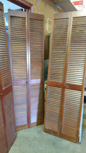 Louver doors,  looking for