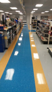 Floor Stripping & Waxing Experts - Décapage et cirage planchers