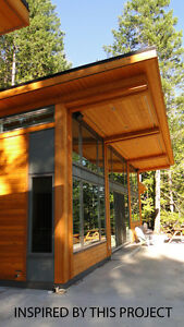 Shipped To Ytou - Tamlin Homes Contemporary Timber Cabin Kit!