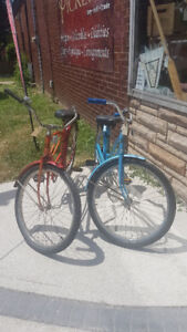 Original 1940's AEC Beach Cruiser Bikes