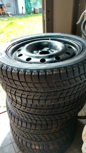 4 winter tires with rims 205-50-16