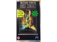 Star Trek First Contact VHS