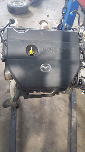 Mazda Mazda5 Engine Moteur Bas Low KM