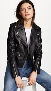 BRAND NEW WITH TAGS - Mackage Leather Baya Jacket