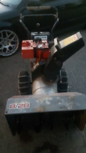 Craftsman 8/28 Snowblower