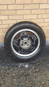 Brand New Motorcycle Tire and Rim - $100 (Prince George)