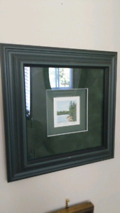 Ingrid Hunt Lithograph of Muskoka signed by the artist