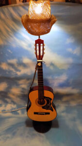 ONE OF A KIND ACOUSTIC GUITAR LAMP