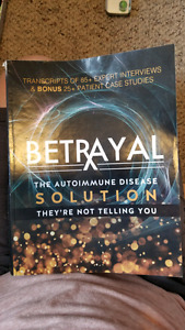 Betrayal: the autoimmune solution transcript book