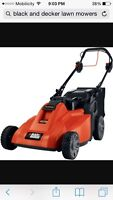 Automatic Electric Lawn Mower