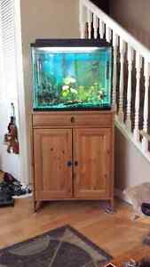 25 Gallon Fish Tank With Stand!!!