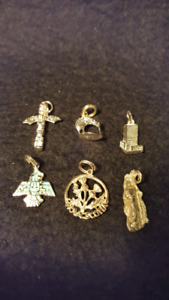 Sterling Charm Grouping - Mix and Match