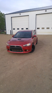 2015 mitsubishi lancer ralliart with low km on it for sale