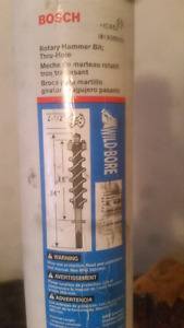 Two and 1/2 inch rotary hammer bit