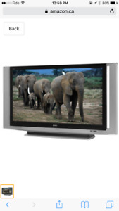 """Grand Wega SONY LCD projection HD TV 60"""" (including TV Stand)"""