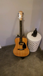 Acoustic fender guitar