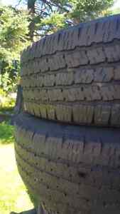 2 free 1/4 ton or SUV Tires