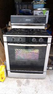 Beautiful Bosch gas range.  Lovely stove in great condition!