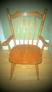 Colonial Style Rocking Chair