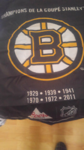 For sale several NHL banners