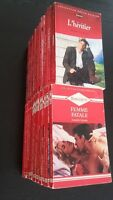Livres Harlequin collection Rouge Passion