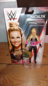 WWE NATALYA SIX INCH ACTION FIGURE NEW IN PACKAGE WITH BRIEFCASE