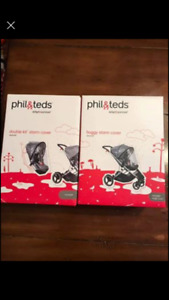 Phil and Teds stroller storm rain cover brand new in box