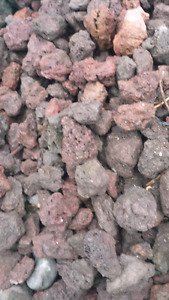 Lava rock for  landscaping