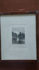 Rare Signed Engraving - Anna Botsford Comstock North Shore Greater Vancouver Area image 4