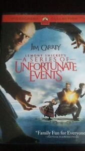 Movie The Series of Unfortunate Events DVD