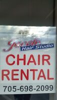 CHAIR RENTAL AND ESTHETICS ROOM FOR RENT