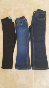 BRAND NEW TODDLER JEAN'S. $5 EACH