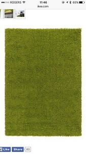 Tapis IKEA vert Hampen en excellente condition - Carpet