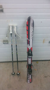 Kids Skis and Poles