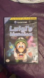 Luigi's mansion gamecube