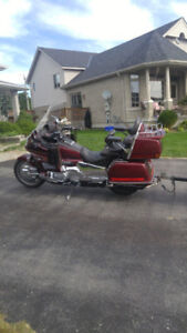 Honda Gold Wing and Trailer