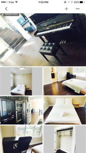 Entire luxury new house 5 bedroom 5 bathroom 1 basement room
