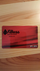 $100 Fitness Solutions Gift Card