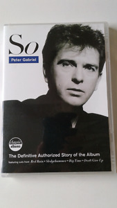Peter Gabriel So DVD