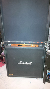 Marshall and celestion speaker cabs