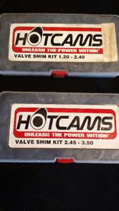 Hot Cams Shim kit for 250f bikes 7.48mm